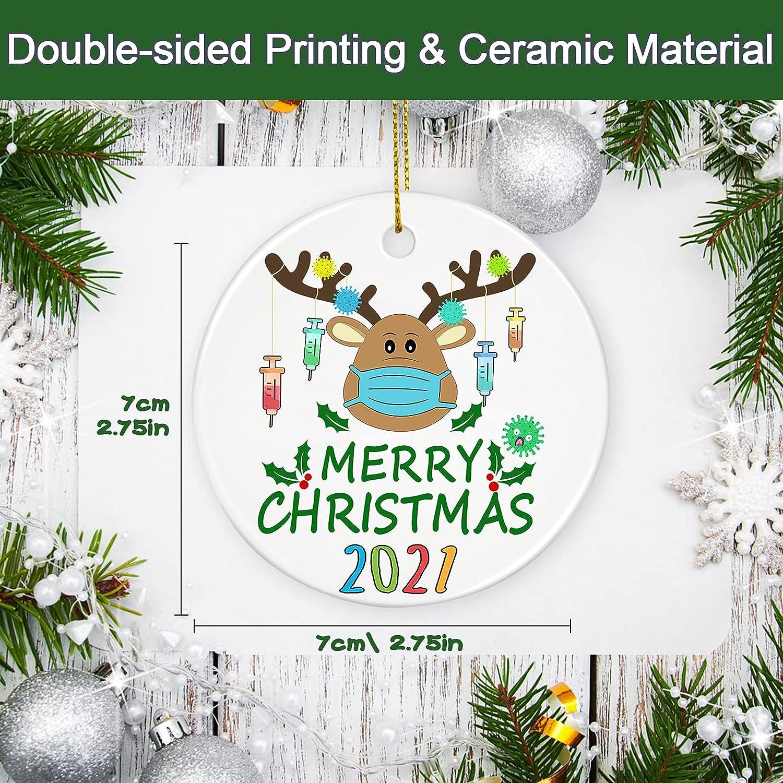 Buy Touber 20 Christmas Ornaments Quarantine, 20 Ornament ...
