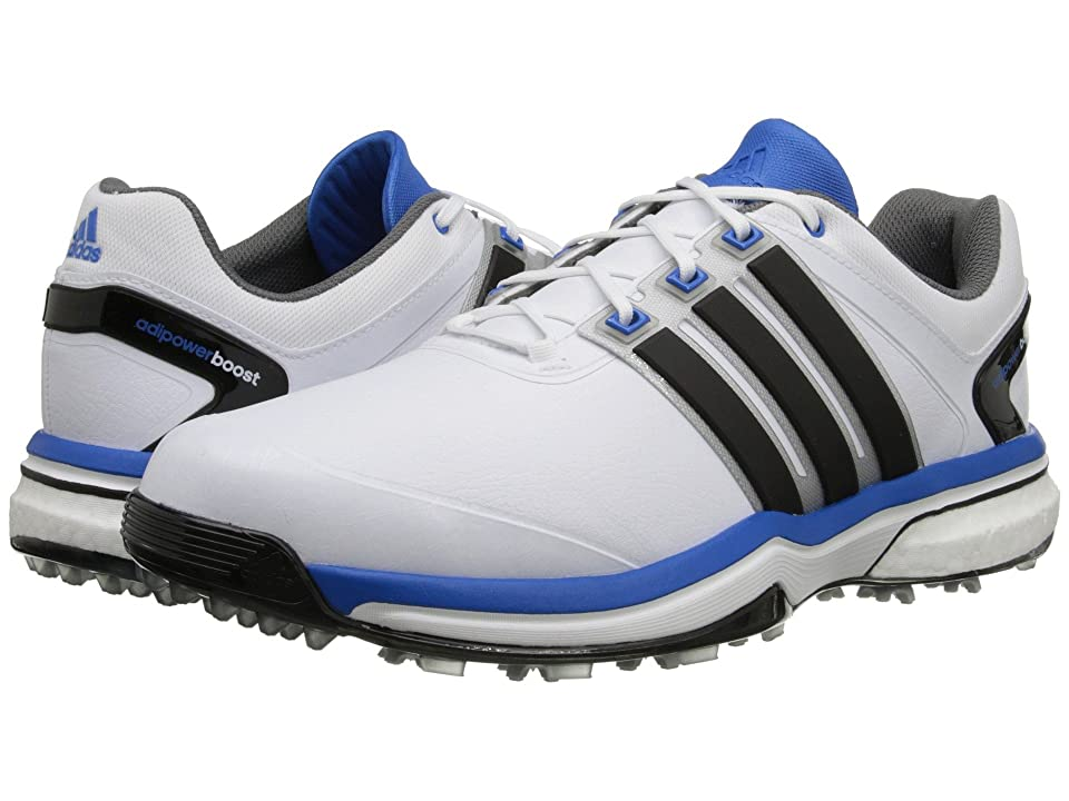 adidas Golf adiPower Boost (Running White/Core Black/Bahia Blue) Men