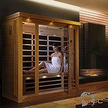 DYNAMIC SAUNAS AMZ-DYN-63-15-01 Florence Low EMF FAR Infrared Sauna