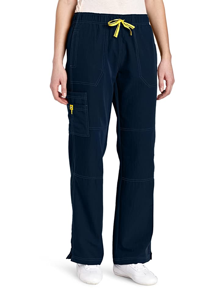 WonderWink Women's Four Stretch Cargo Scrub Pant