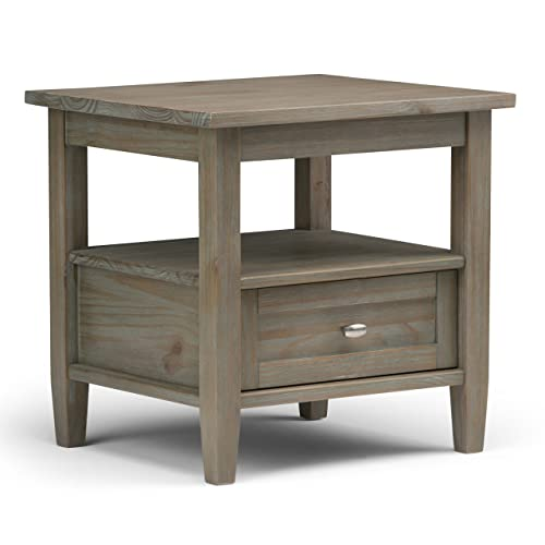 Distressed Living Room End Tables: Amazon.com