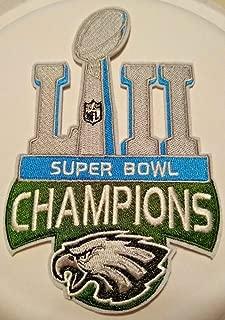 Philadelphia Eagles Superbowl LII Champions PATCH~5 1/2