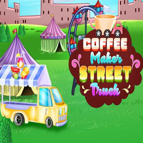 Coffee Maker Street Truck - cooking games for kids