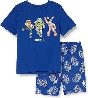 Fortnite Fortnite Beef Boss Leviathan and Rabbit Raider Boys Short Pyjamas Set Navy jongens pyjama-sets