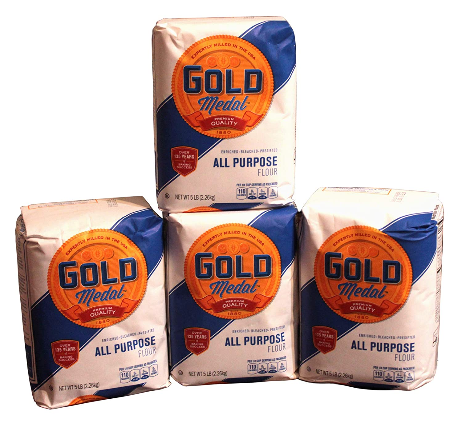 Gold Branded goods Special price Medal- All Purpose Flour 5 4 lb Pack 20LB Total of
