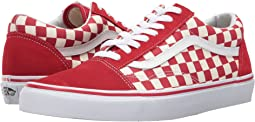 (Primary Check) Racing Red/White