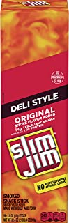Slim Jim Deli Stick Original, Packed with Protein, 1.8-Ounce, 18 Count