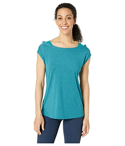 Columbia Place To Placetm Short Sleeve Shirt (Siberia Heather) Women