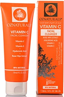 OZ Naturals Vitamin C Facial Cleanser 118ml