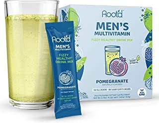 Root'd: Powder Multivitamin for Adults - A Vitamin Drink Mix for Liquid - 25 Vitamins & Minerals, Electrolytes, Zinc, C, D...