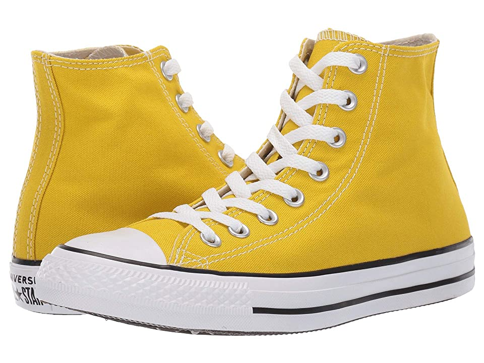 Converse Chuck Taylor(r) All Star(r) Seasonal Hi (Bold Citron) Classic Shoes