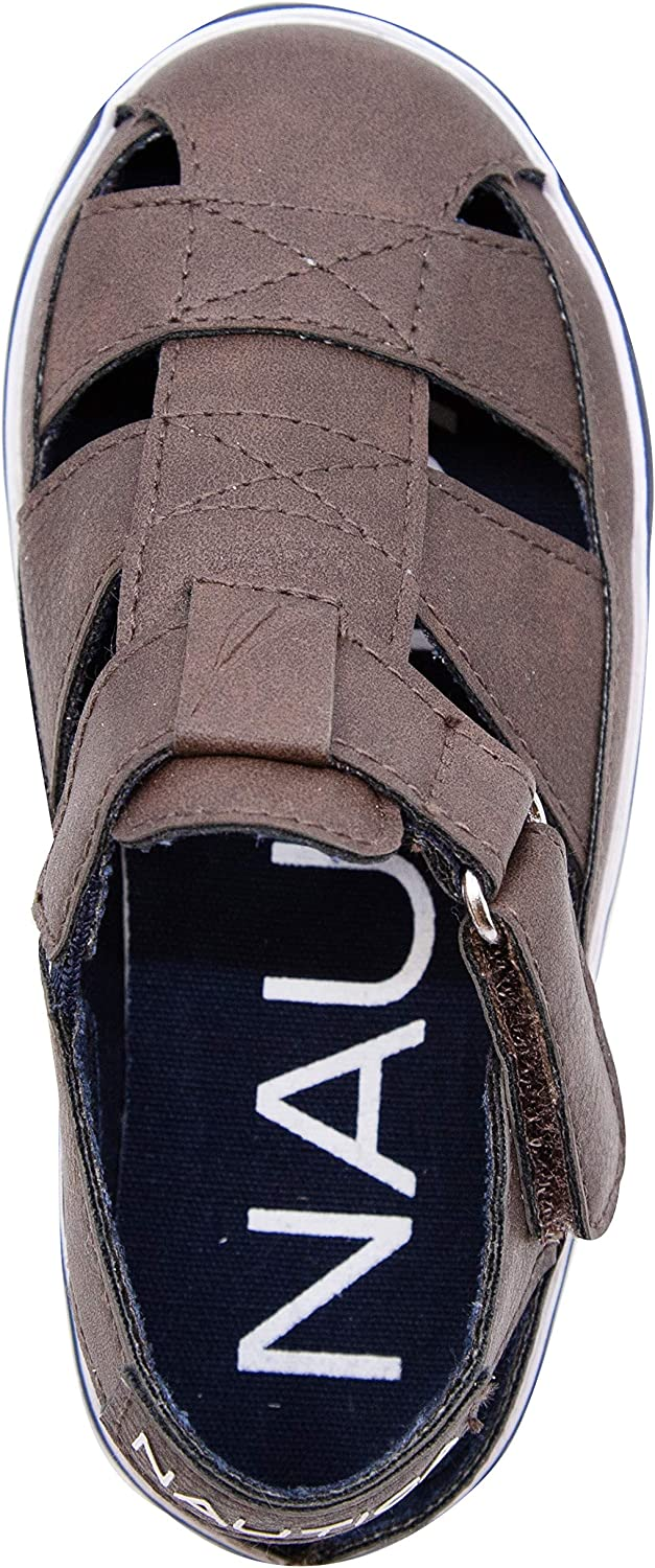 Nautica Kids Mikkel Closed-Toe Outdoor Sport Casual Sandals |Boy - Girl (Youth/Big Kid/Little Kid/Toddler)