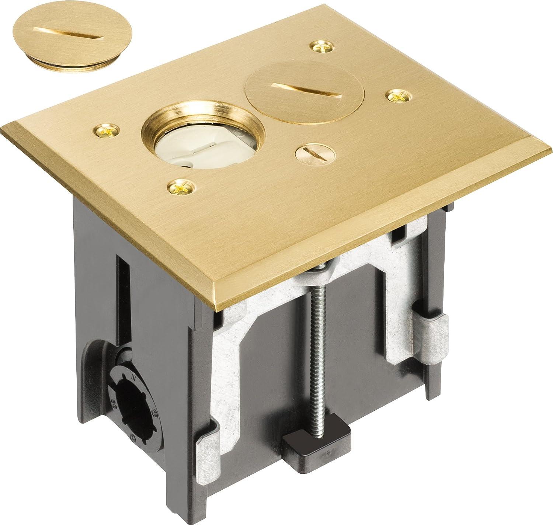 Arlington FLBA101MB-1 Adjustable Rectangular Electr Floor Outlet Ranking TOP2 New products world's highest quality popular