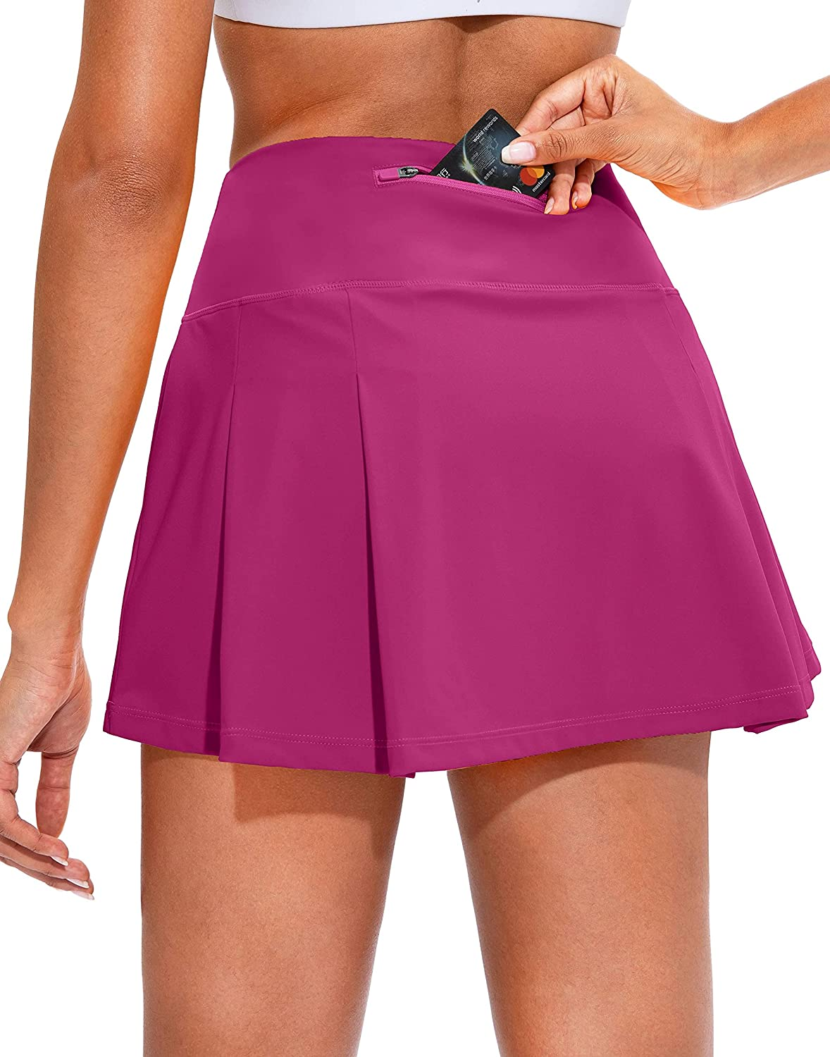 Soothfeel Pleated Tennis Skirt for Hi Pockets Ranking TOP19 Women Women's Choice with