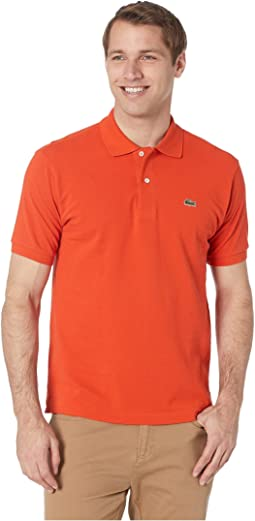 33d4d25f26fab Lacoste. Short Sleeve Classic Pique Polo Shirt.  89.50. Casual