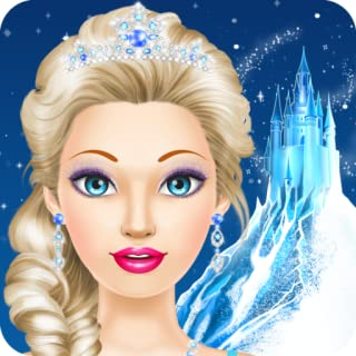 Ice Queen Salon: Spa, Makeup and Dress Up: princess beauty salon makeover for girly girls who love fashion games