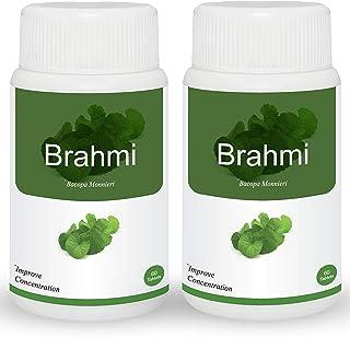 Herb Essential Brahmi 500Mg Tablet - 60 Count (Pack of 2)