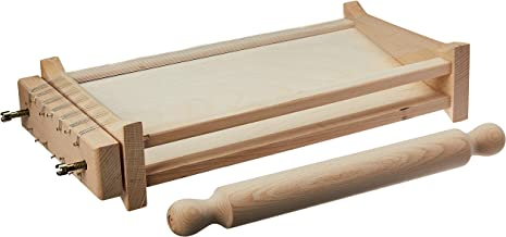 "Eppicotispai""Chitarra"" Pasta Cutter with 32cm/12.5-Inch Rolling Pin"