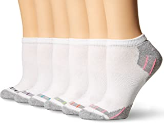 Hanes Hanes Women's Cool Comfort Fit No Show Socks (Pack of 6) 4A1/6