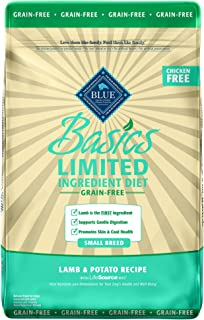 Blue Buffalo Blue Basics Grain-Free Lamb & Potato Recipe Small Breed Adult Dry Dog Food