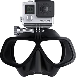 free dive mask with gopro mount