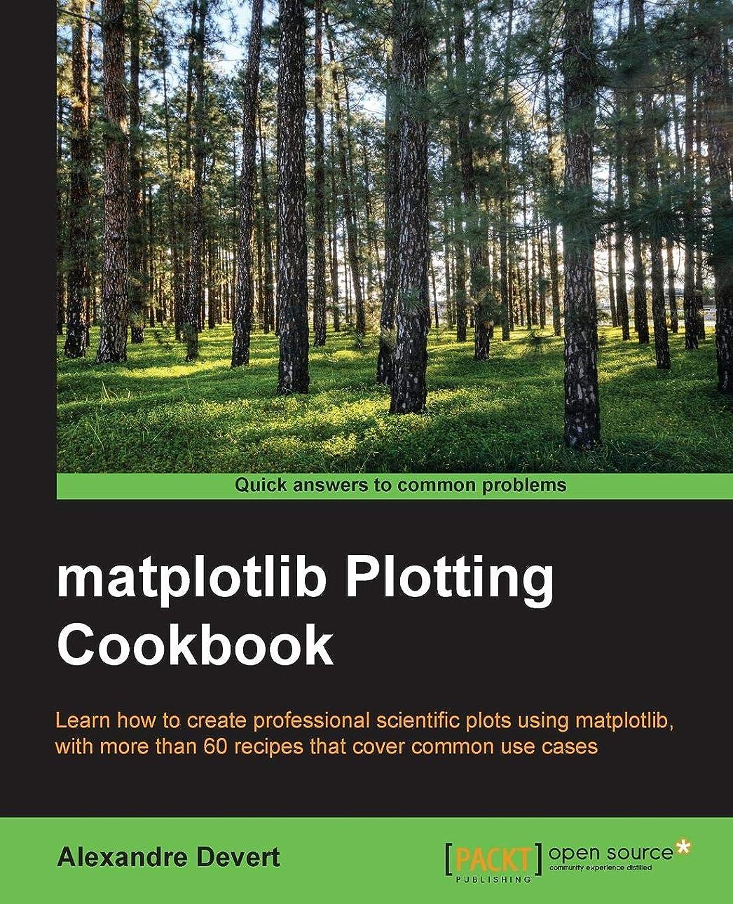軍艦一生尽きるMatplotlib Plotting Cookbook