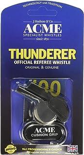 ACME Thunderer Finger Grip Metal Whistle Nickel-Plated (477/58.5) Large