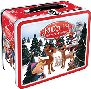 Aquarius Rudolph The Red Nosed Reindeer Gen 2 Tin Storage Fun Box