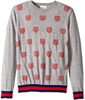 Gucci Kids - Tiger Knit Merino Sweater (Little Kids/Big Kids)