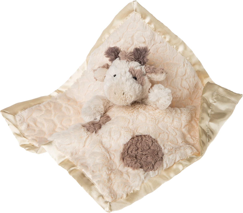 Mary Meyer Stuffed Animal Security Blanket, Putty Giraffe, 13 x 13