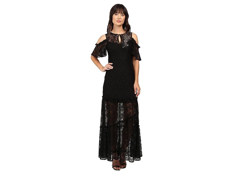 Nanette Lepore Song Dress (Black) Women