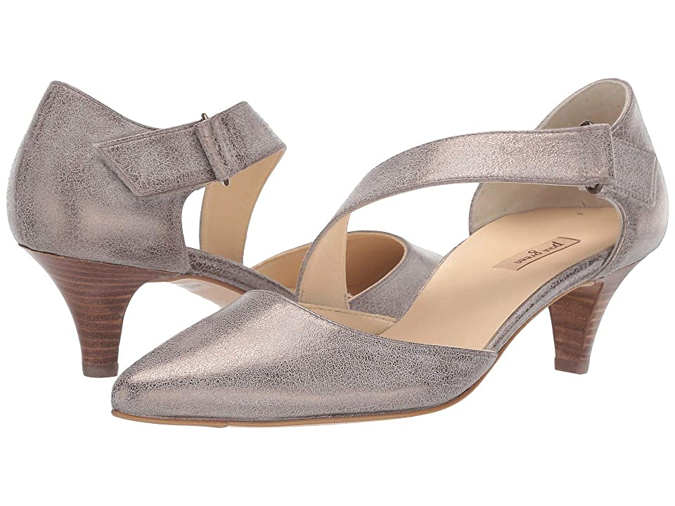 f8daebab37 Paul Green Nicki Pump (Smoke Brushed Metallic) Women