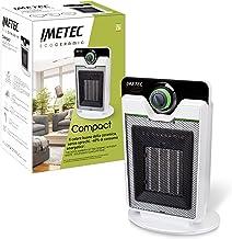 Imetec Eco Ceramic CFH1-100 ventilatorkachel met keramische technologie met laag energieverbruik, geluidsarm, 3 temperatuu...