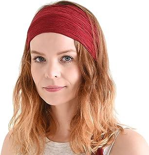Womens Headband Boho Headwrap - Turban Head Wrap Festival Mens Pirate Hairband