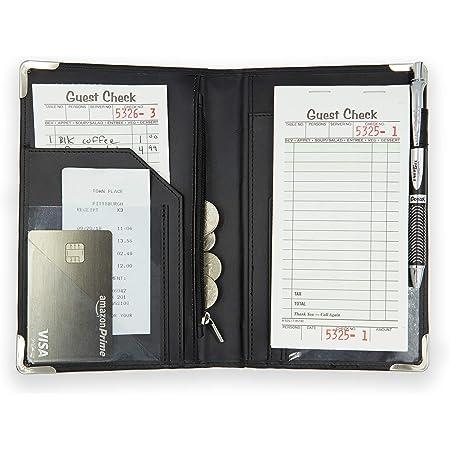 Server Books for Waitress with Zipper Money Pocket Server Book by Server Plus
