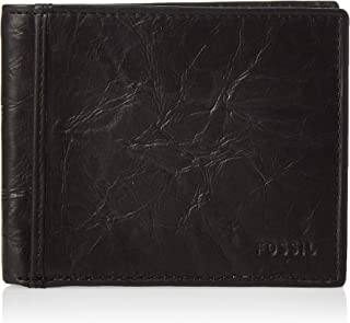 Fossil Men's Neel Leather Bifold Flip ID Wallet
