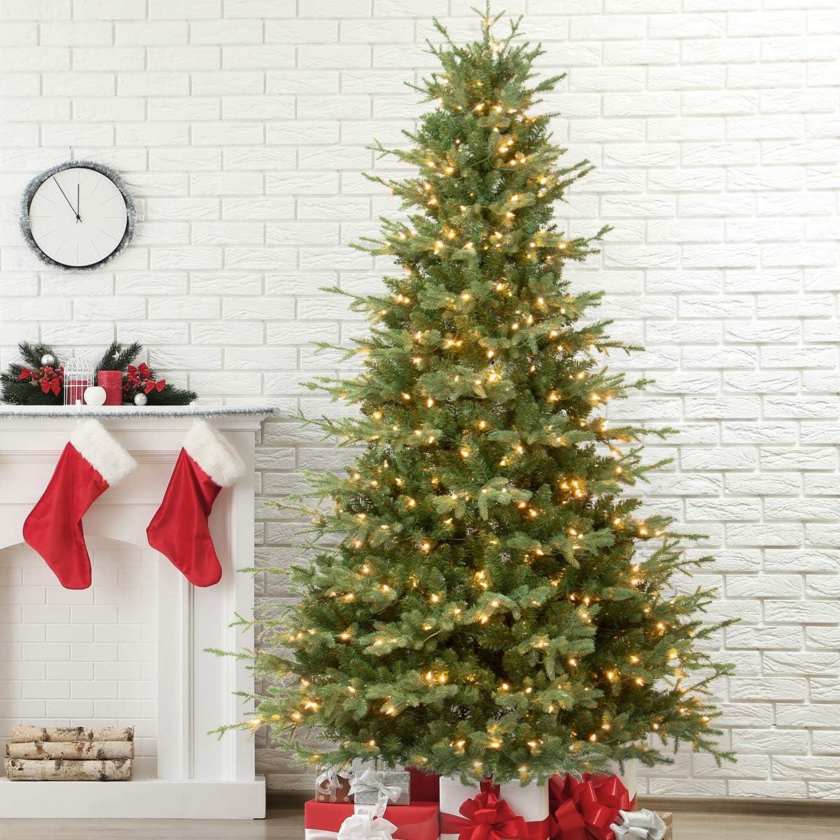 Albuquerque Mall OasisCraft 6.5FT Pre-lit Fir Tree - Natural Christmas New sales