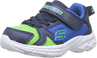 Skechers Boys' Eclipsor - Interpulse Trainers, Blue (Blue Lime)