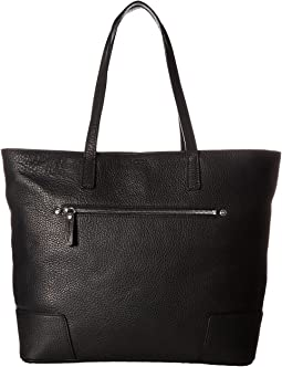 Zip Shoulder Tote