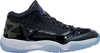 Jordan Air Retro 11 Low IE Space Jam Black/Concord-White