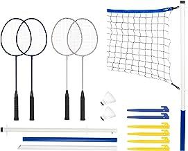 Franklin Sports Badminton Set – Portable Badminton Set – Adult and Kids..