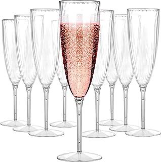 Best 5.5oz plastic champagne flutes Reviews
