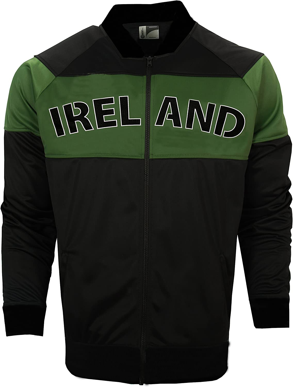 Croker Ireland Green & Black Bomber Jacket