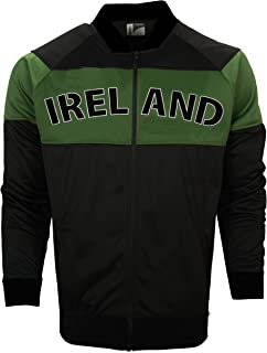 Ireland Green & Black Bomber Jacket