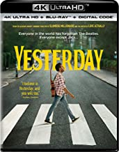 Yesterday (4K Ultra Hd/Blu-Ray/Digital