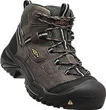 Keen Utility - Men's Braddock All Leather Mid Waterproof (Steel Toe) Work Boots