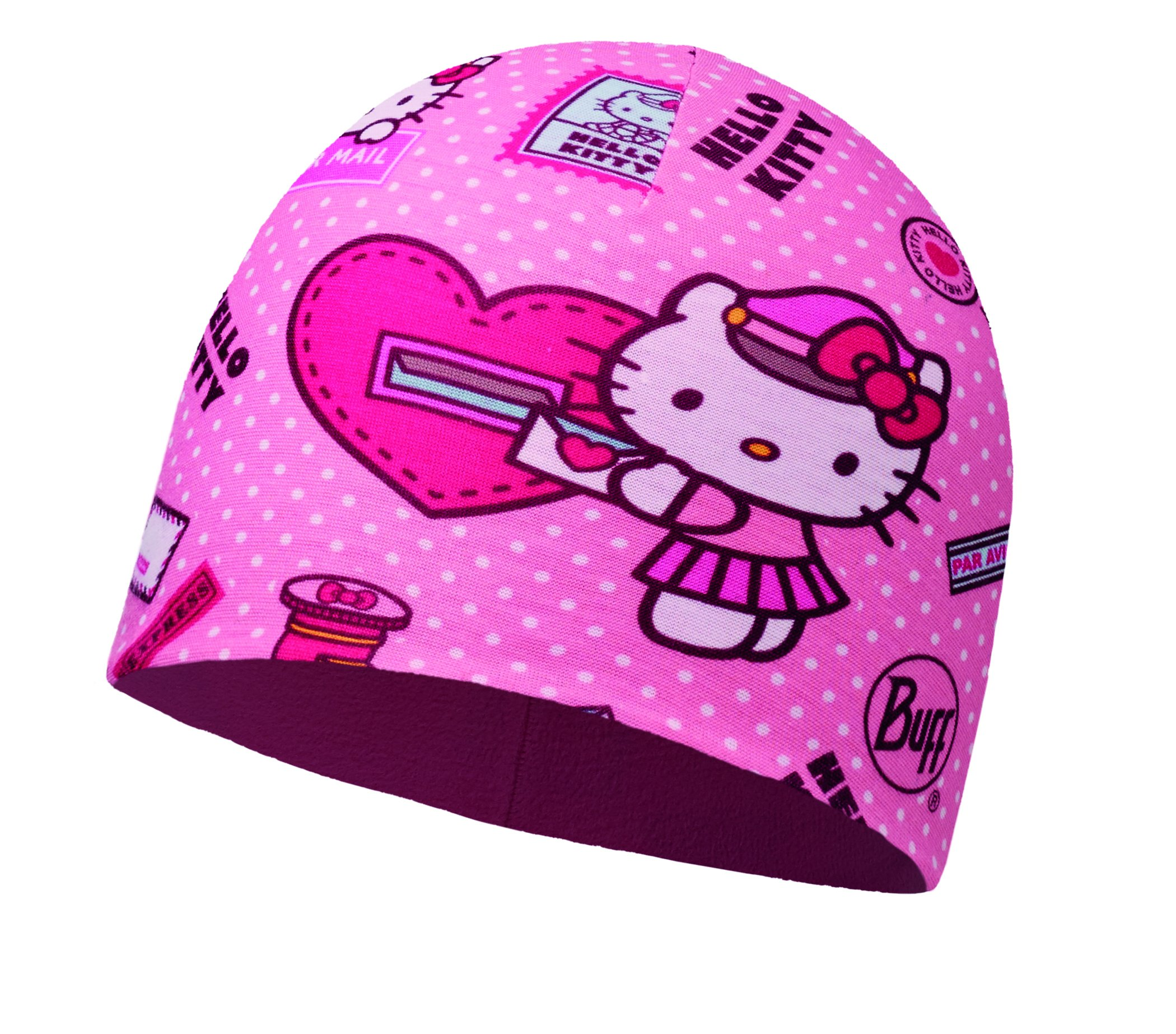Buff Kinder Hello Kitty Child Microfiber Polar Hat Mütze, Mailing Rosé, One si