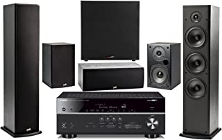 Yamaha 7.2-Channel Wireless Bluetooth 4K 3D A/V Surround Sound Multimedia Home Theater System