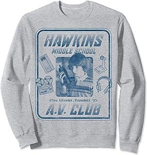 Netflix Stranger Things Mike Wheeler Hawkins A.V. Club Sweatshirt