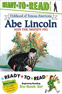 Childhood of Famous Americans Ready-to-Read Value Pack: Abe Lincoln and the Muddy Pig; Albert Einstein; John Adams Speaks ...